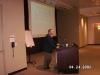 """Hon. Consul George Roth presenting at """"Business in Romania in the Era of Pre-Accession to the European Union"""", Palo Alto, April 24, 2006"""