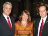 Washington, March 29, 2004, on the occasion of the celebration of Romania\'s accession to NATO (from left to right: H.E. Adrian Nastase, Prime Minister, Ms. Dana Beldiman, H. E. Amb. Sorin Ducaru)